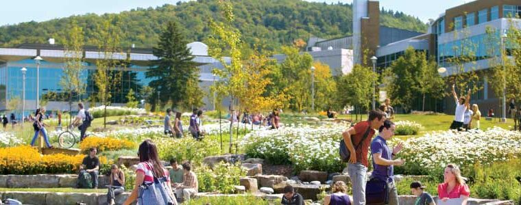 Sherbrooke: best student city in Canada!